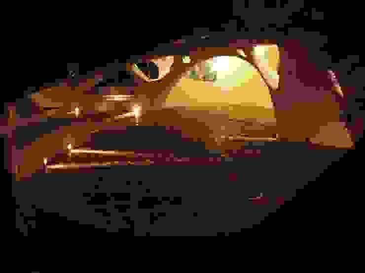 Śródziemnomorski ogród od The White Room Śródziemnomorski Beton