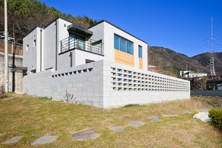 한글주택(주) Modern houses Concrete