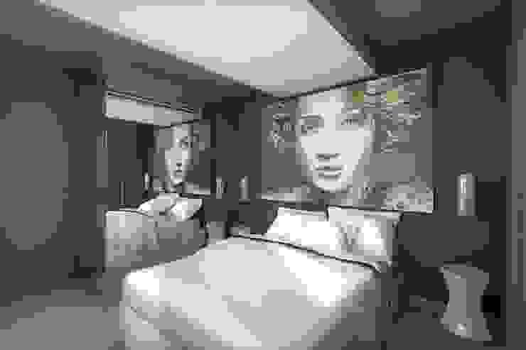 Décoration originale pour chambre contemporaine Chambre originale par réHome Éclectique