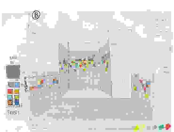 A casa de banho Kubic por Architect Your Home Moderno