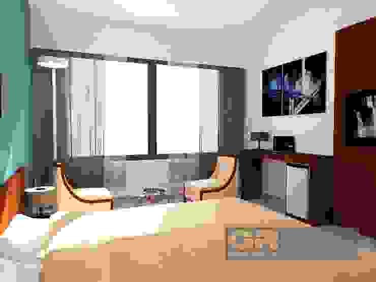 G+R Arquitectura Camera da letto minimalista