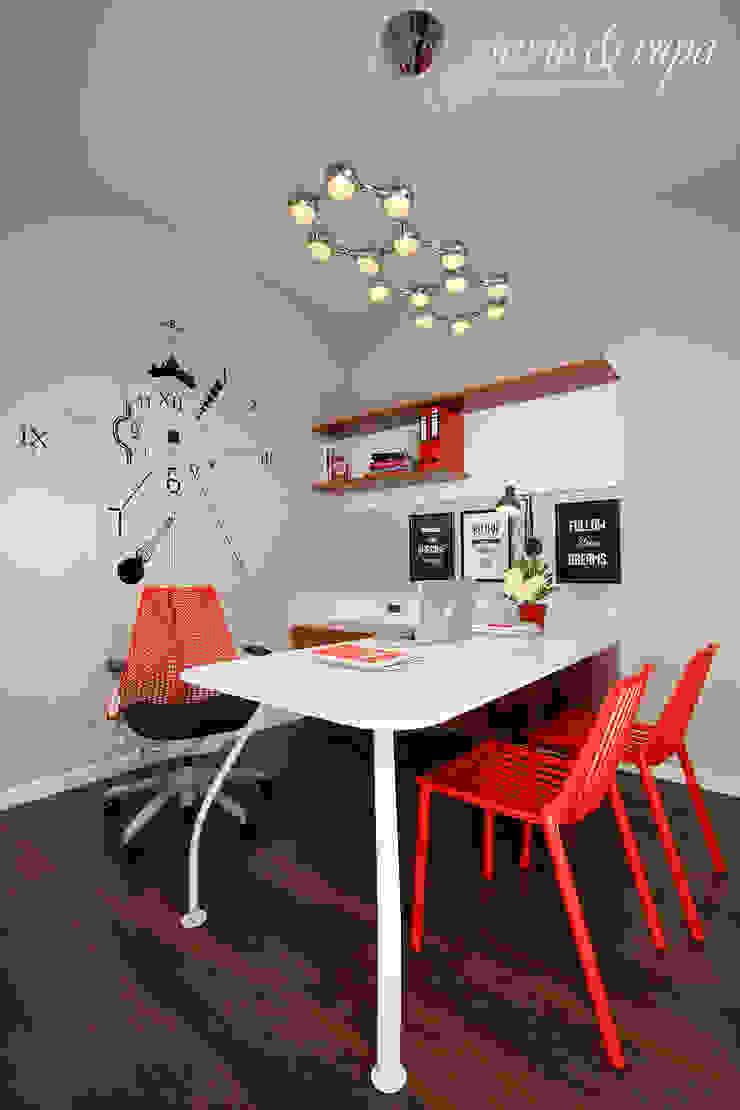 Home Office: scandinavian  by Savio and Rupa Interior Concepts ,Scandinavian