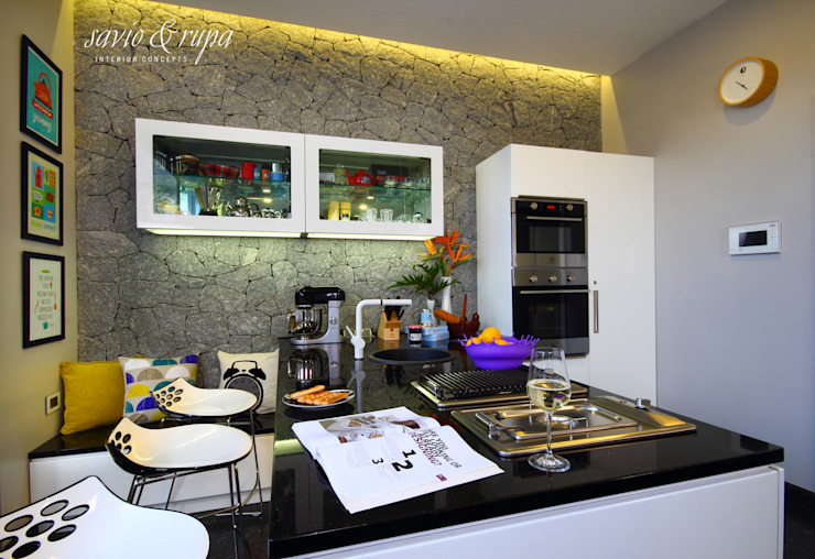 Savio and Rupa Interior Concepts CocinaEncimeras