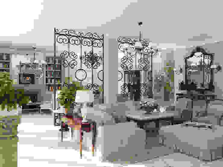 Salas de estar mediterrânicas por ELLE DESIGN STUDIO Mediterrânico
