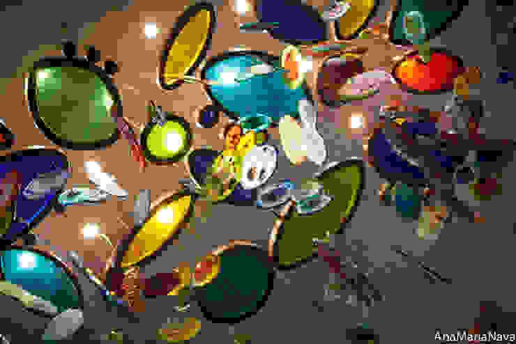 MAR DE MEDUSAS de Ana Maria Nava Glass Moderno