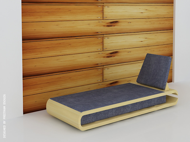 Nailcutter couch: modern  by Preetham  Interior Designer,Modern