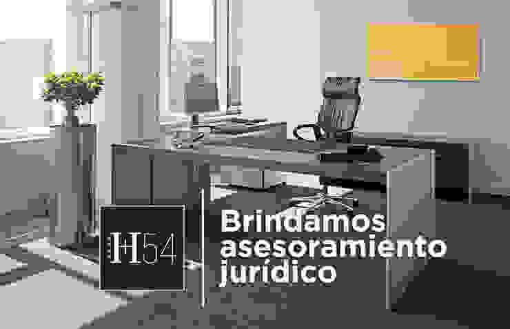 Home54 Oficinas de estilo moderno