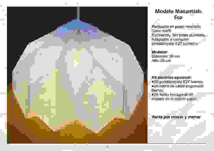 Modelo Manantial Eco de Izumi Moderno Papel
