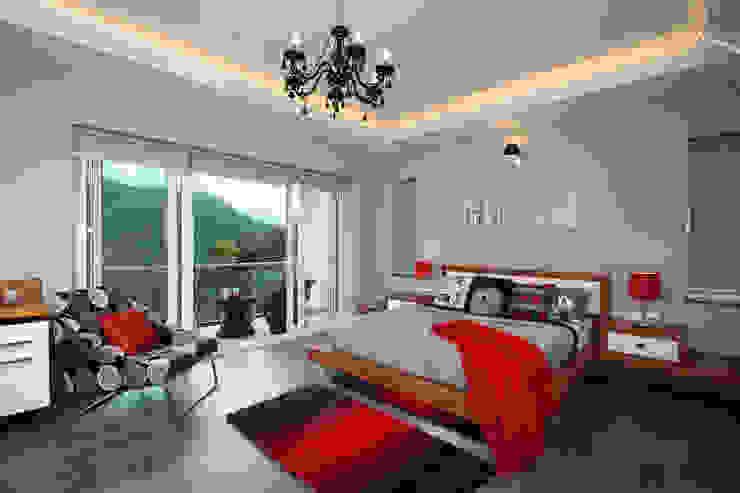 Master Suite Savio and Rupa Interior Concepts Modern style bedroom