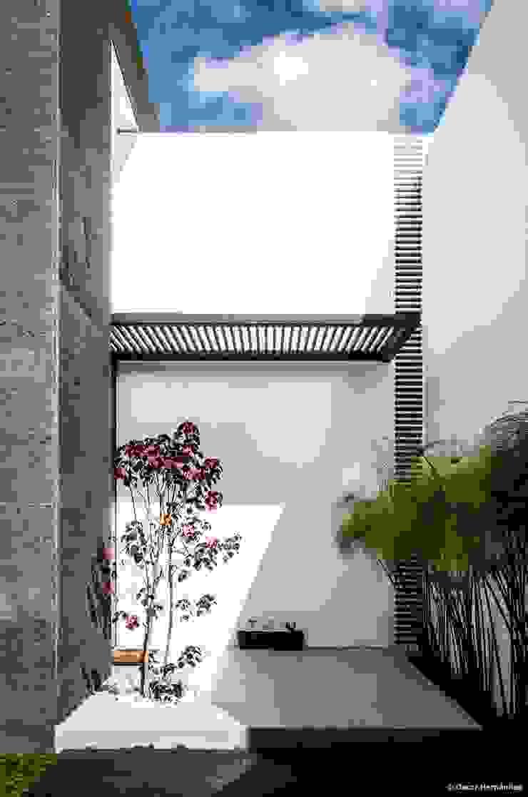 casaMEZQUITE Casas modernas de BAG arquitectura Moderno Hierro/Acero