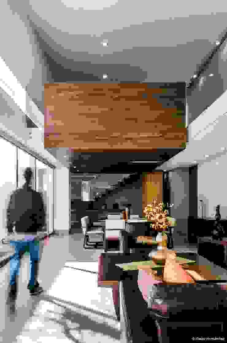 casaMEZQUITE Salones modernos de BAG arquitectura Moderno Madera Acabado en madera