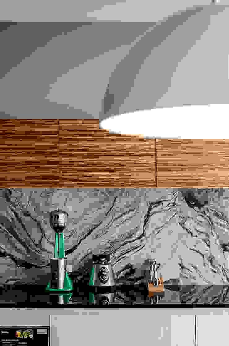 casaMEZQUITE Cocinas modernas de BAG arquitectura Moderno Granito