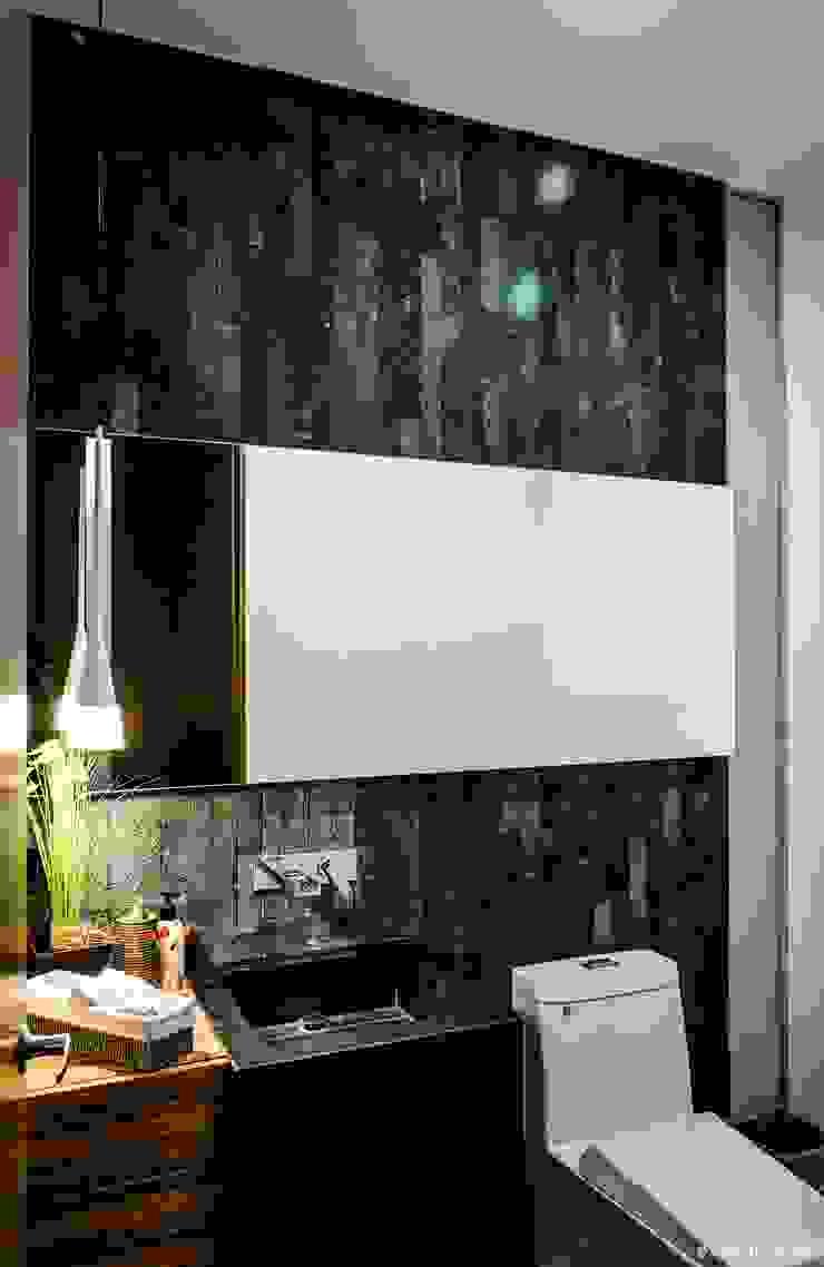 casaMEZQUITE Baños modernos de BAG arquitectura Moderno Piedra
