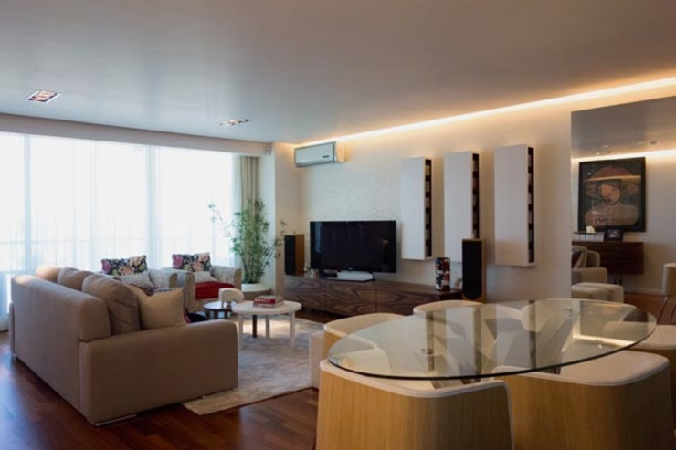 Salas de estar modernas por Architect Your Home Moderno