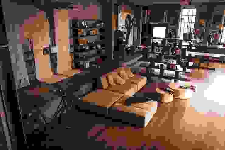 Fur Nature design Jamie Durie Riva1920 Soggiorno moderno Legno