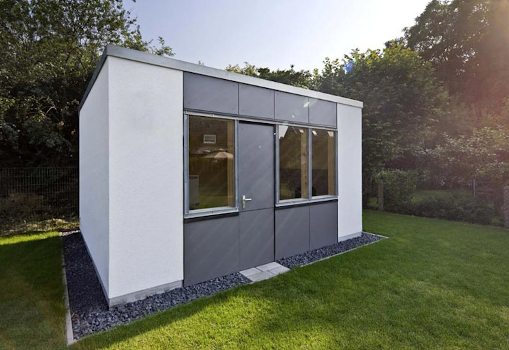 Modern garage/shed by puschmann architektur Modern