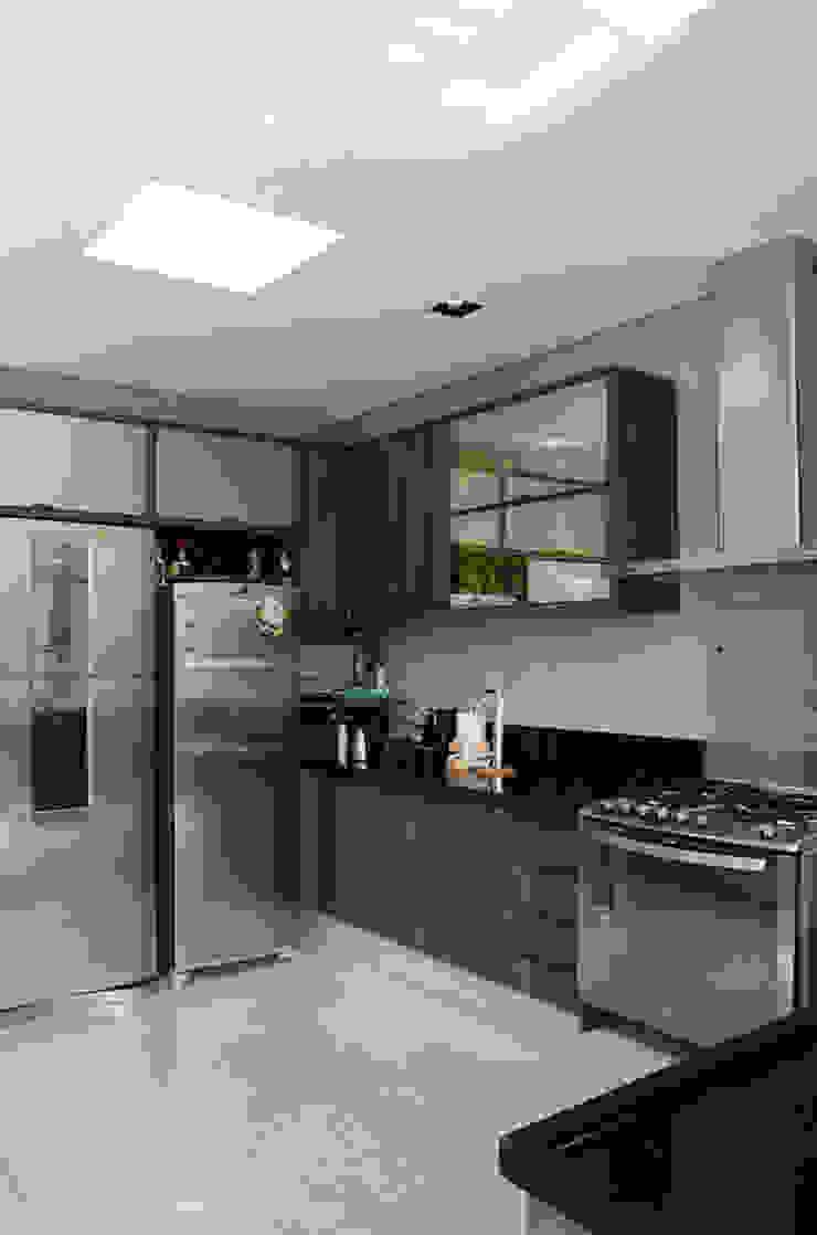 A/ZERO Arquitetura 現代廚房設計點子、靈感&圖片