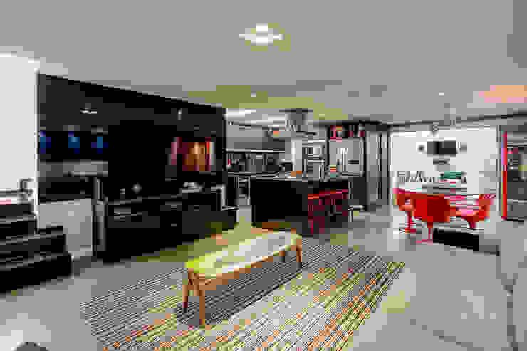 Soggiorno moderno di VL Arquitetura e Interiores Moderno