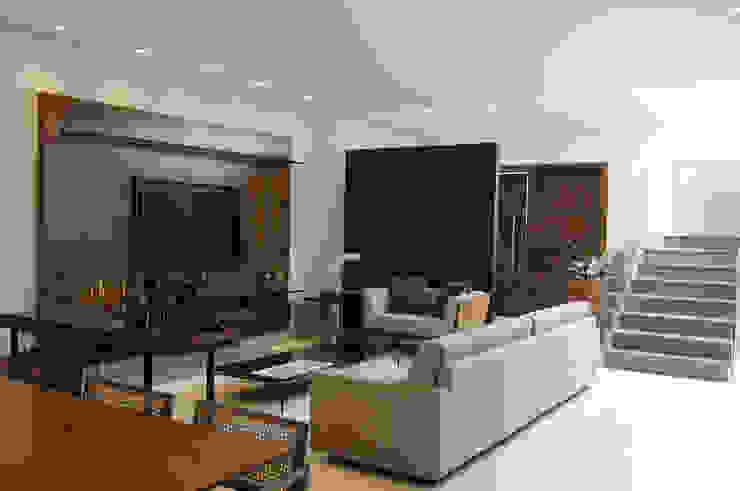 A/ZERO Arquitetura Salas de estilo moderno