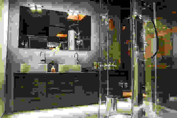 Ático Duplex, Reforma integral Molina Decoración Baños de estilo moderno