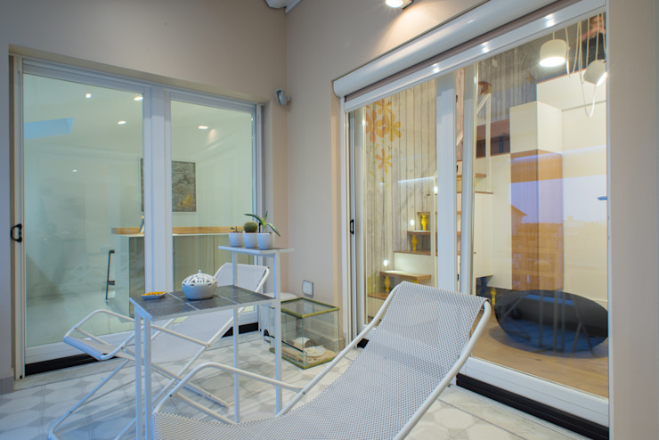 Balcon, Veranda & Terrasse modernes par Mario Ferrara Moderne