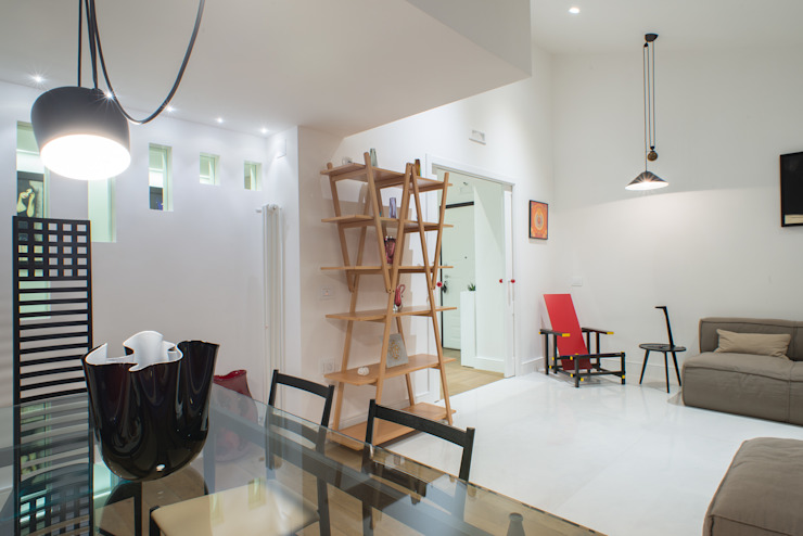 Modern Yemek Odası Mario Ferrara Modern