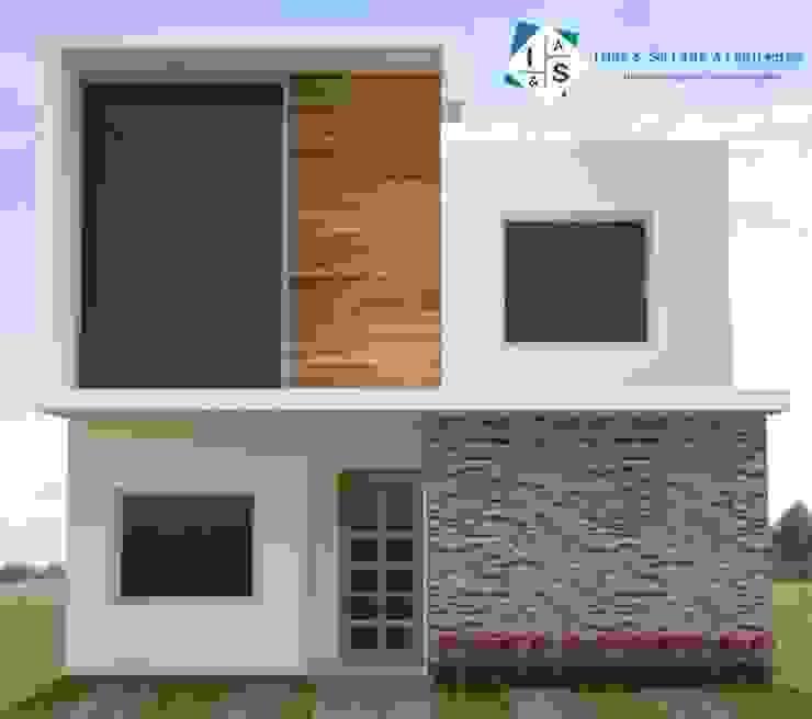 Minimalistische Häuser von ISLAS & SERRANO ARQUITECTOS Minimalistisch