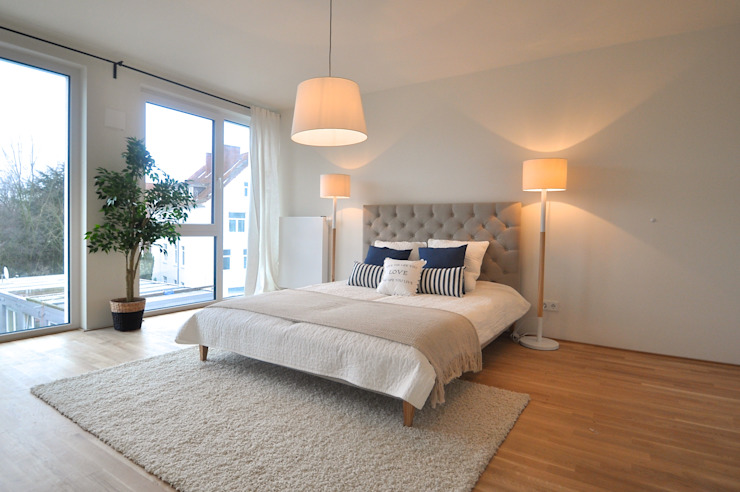 Habitaciones de estilo escandinavo de Karin Armbrust - Home Staging Escandinavo