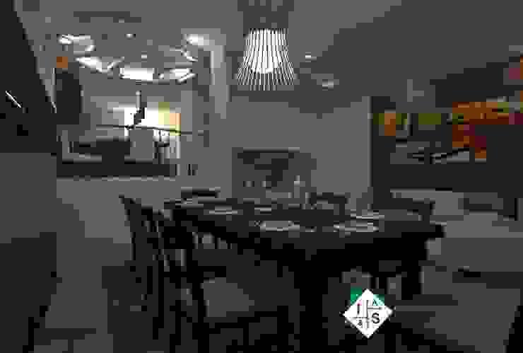 Comedor Comedores modernos de ISLAS & SERRANO ARQUITECTOS Moderno