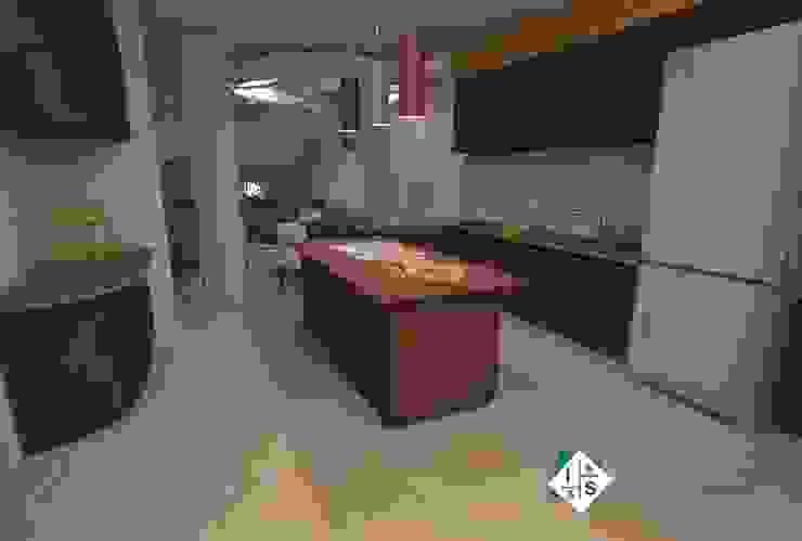 Cocina integral Cocinas modernas de ISLAS & SERRANO ARQUITECTOS Moderno