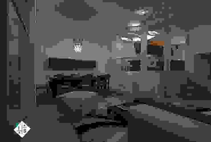 Sala de Estar Salones modernos de ISLAS & SERRANO ARQUITECTOS Moderno