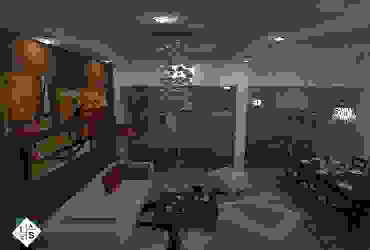 Interiorismo CF Salones modernos de ISLAS & SERRANO ARQUITECTOS Moderno