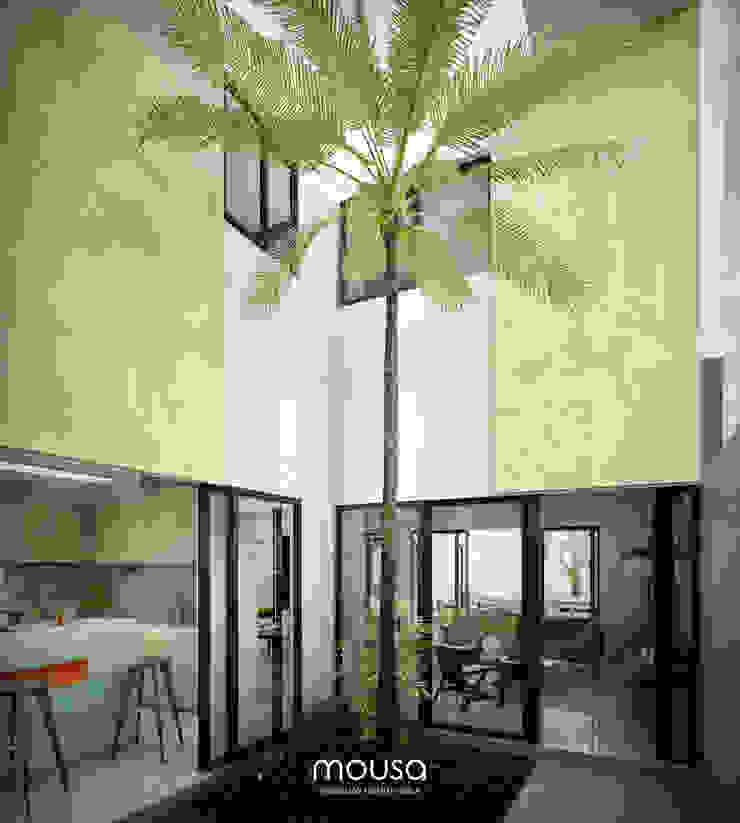 mousa / Inspiración Arquitectónica Modern style gardens