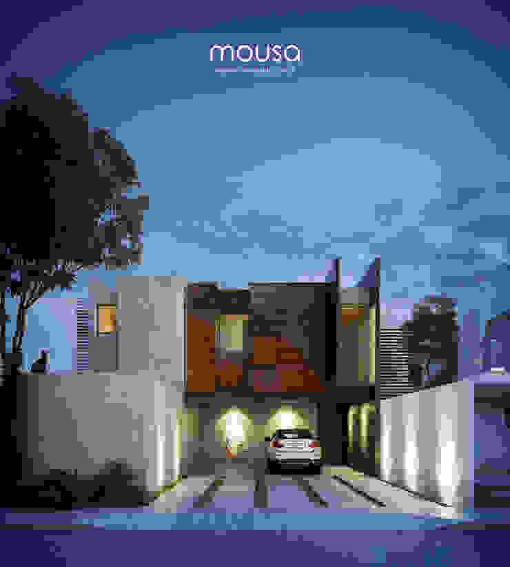 mousa / Inspiración Arquitectónica Modern houses