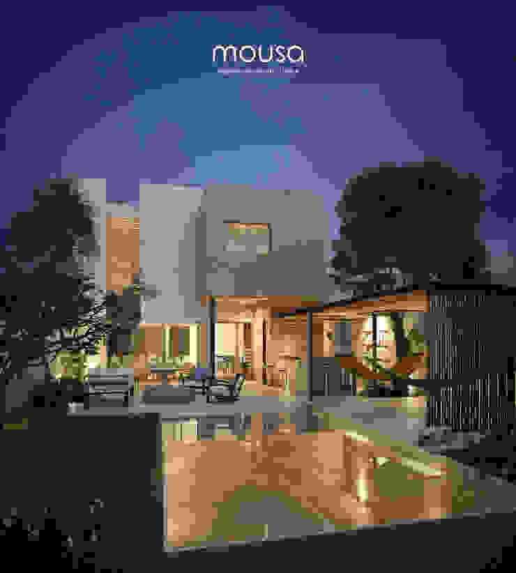 Casa Alor Casas de estilo moderno de mousa / Inspiración Arquitectónica Moderno