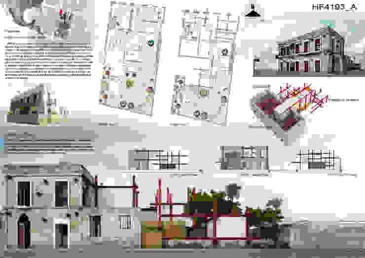 A HOUSE FOR... Casas rústicas de mousa / Inspiración Arquitectónica Rústico