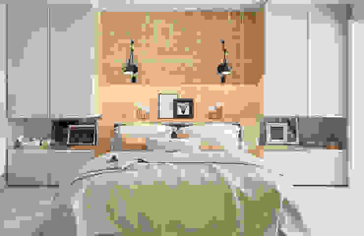 Студия дизайна Дарьи Одарюк의  침실, 에클레틱 (Eclectic)