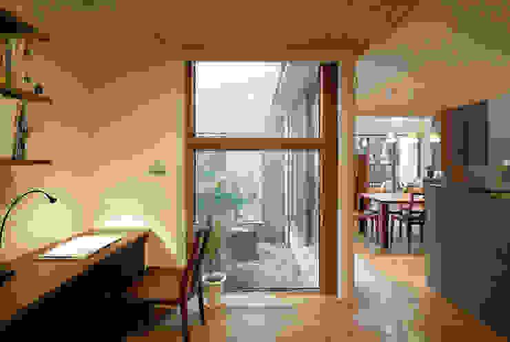 ワークスペース モダンデザインの 書斎 の シーズ・アーキスタディオ建築設計室 モダン