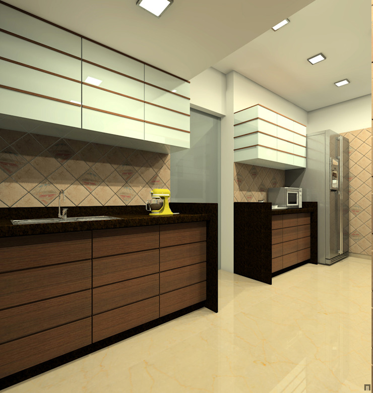 Kitchen Modern kitchen by A.S.Designs Modern Plywood