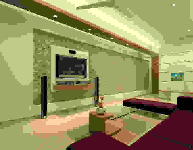 Livingroom Modern living room by A.S.Designs Modern Plywood