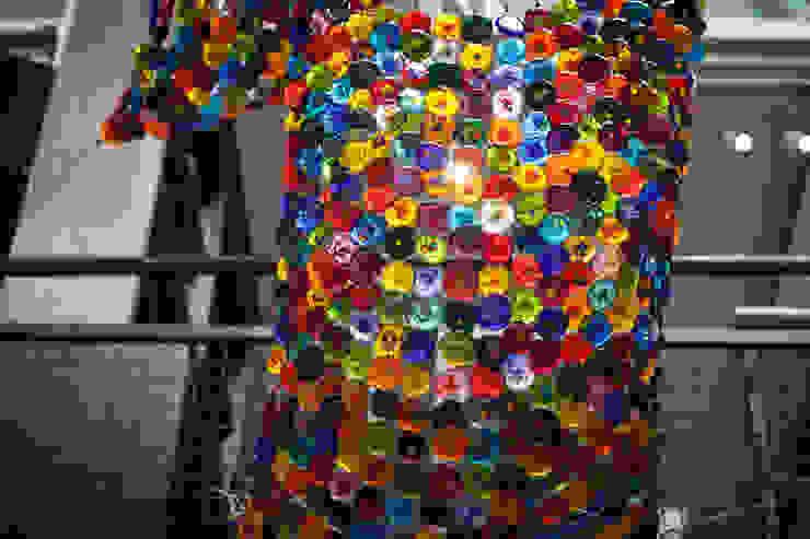 Textiles de vidrio fundido de Ana Maria Nava Glass Minimalista