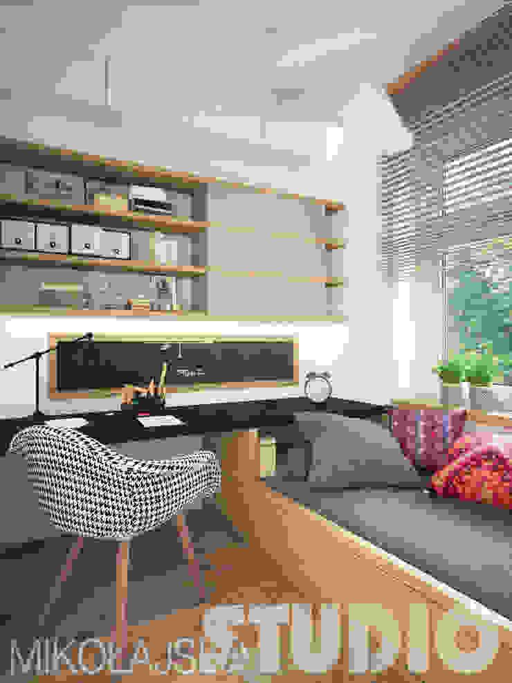 interior design teenager od MIKOŁAJSKAstudio