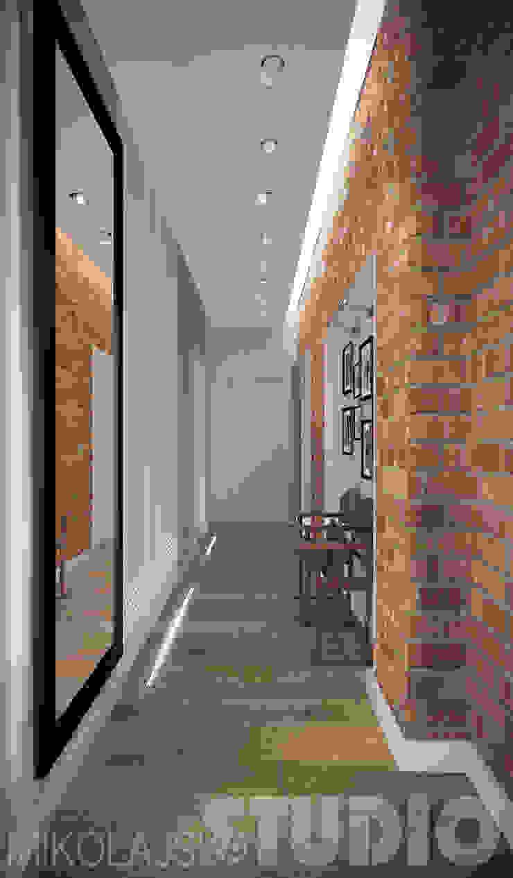 jak zaprojektować wąski korytarz od MIKOŁAJSKAstudio