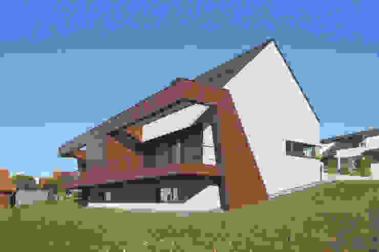 Gartenansicht I Moderne Häuser von Fichtner Gruber Architekten Modern