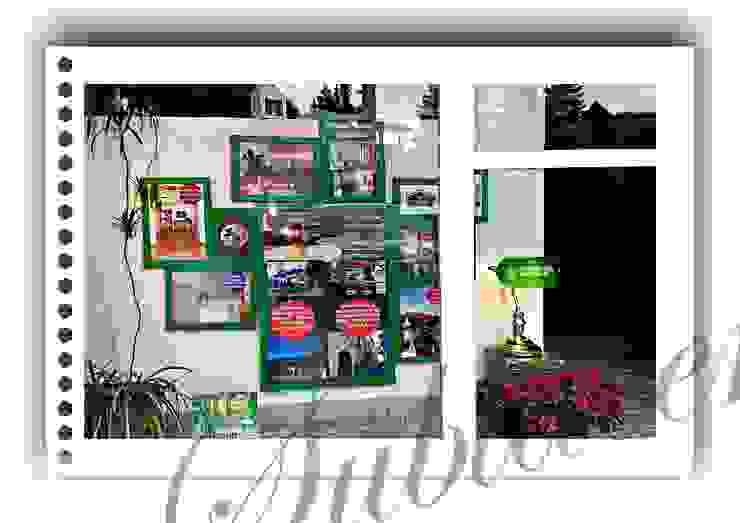 immobiliare sublacense Oficinas y tiendas de estilo ecléctico Verde