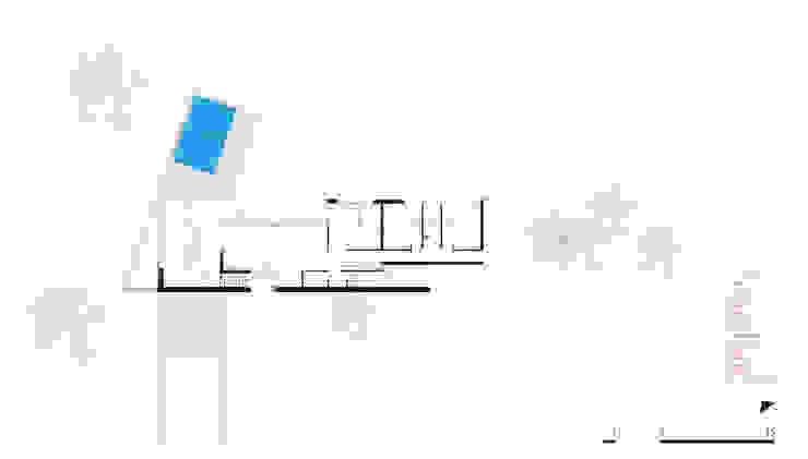 Planta Baja CCMP Arquitectura Casas de estilo moderno