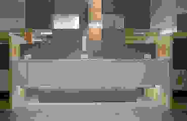 Grey-t Nowoczesna kuchnia od t design Nowoczesny Beton
