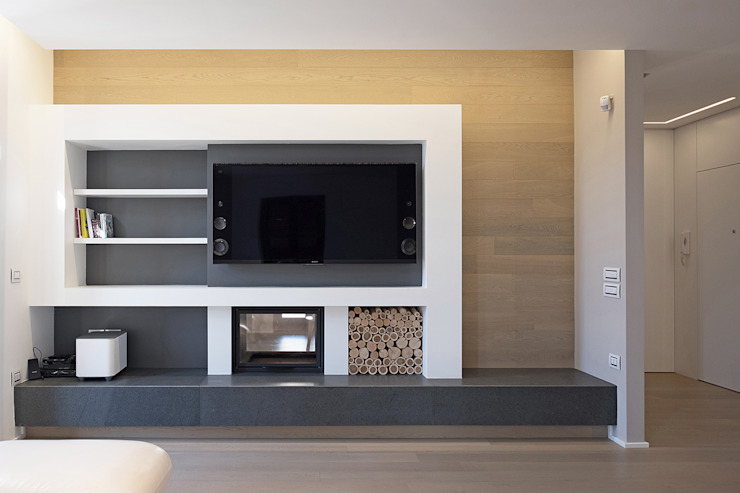 Modern Living Room by Luca Mancini | Architetto Modern