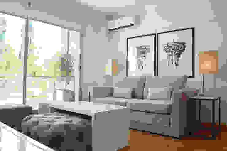 Living Salones minimalistas de Estudio Nicolas Pierry Minimalista