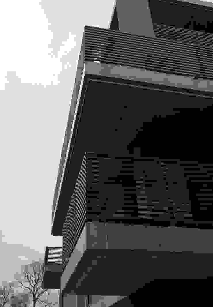 Diepengaerde Valkenburg Lb Moderne balkons, veranda's en terrassen van DI-vers architecten - BNA Modern